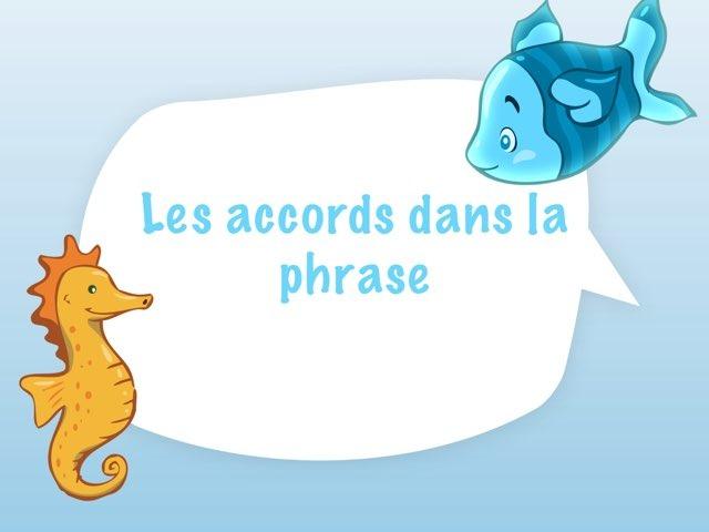 Accord dans La Phrase by Marielle Bringer