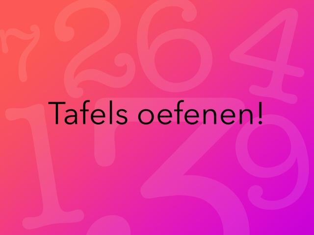 Tafels  by Julie Kerckhof