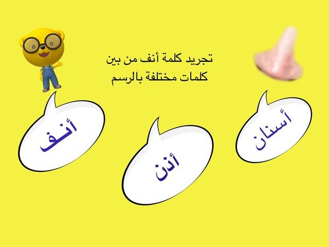 تجريد كلمة أنف by مشاعل السعيدي