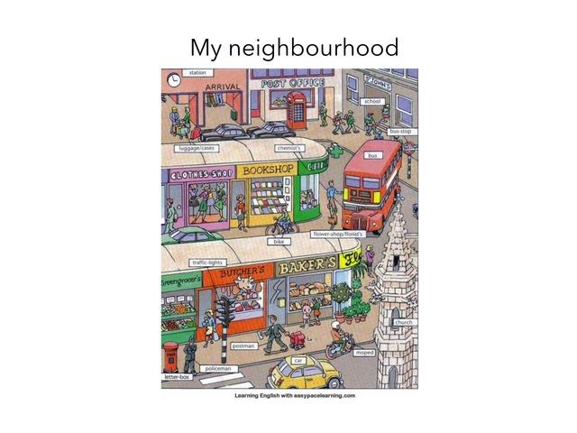 Neighbourhood  by SF ALhajiry