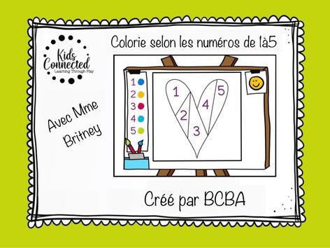 Kit de peinture par numéros 1-5  by Kids  Connected