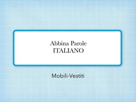 Abbina Parole 3 by Monica Failla