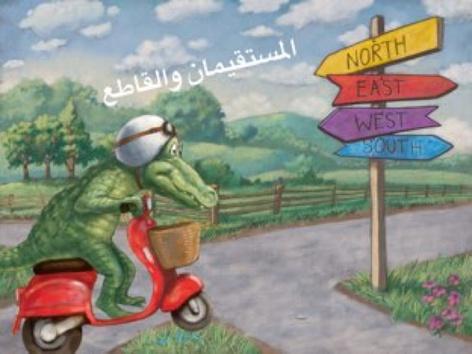 المستقيمان والقاطع by Alyaa Salman