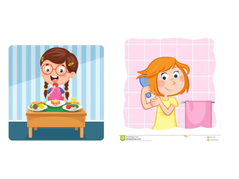 Daily routines verifica  by Anna Gonella