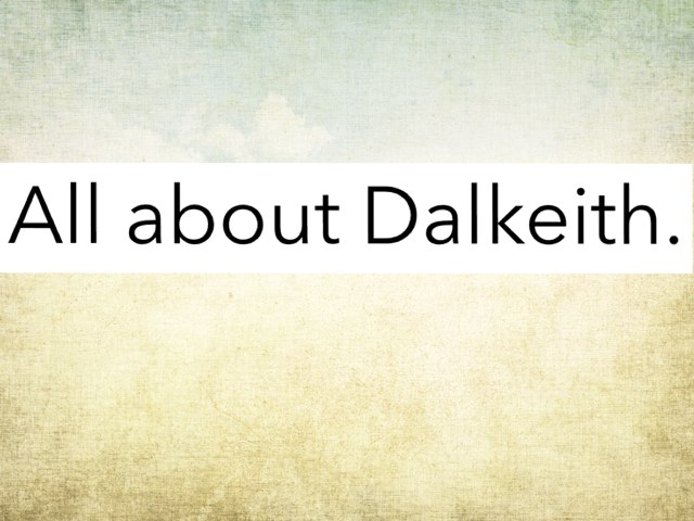 Dalkeith History by Miss Doig