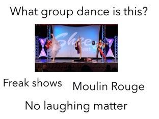Dance Moms Quiz. by Daniel  Vaca