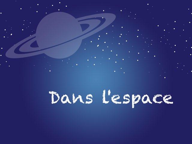 Dans L'espace by Céline Lheureux