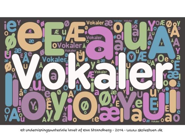 Danske Vokaler by Eva Strandberg