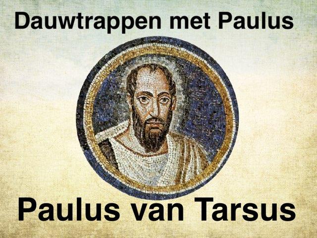 Dauwtrappen met Paulus by Caspar Middeldorp