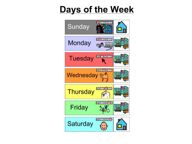 Days Of The Week 2 by Bethany Ray