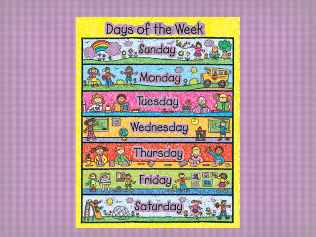 Days Of The Week by Bente Andsbjerg