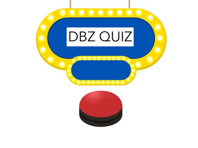 Dbz Quiz by Dylan  Martinez