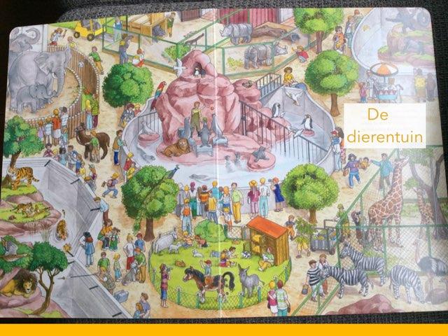 De Dierentuin (woordenschat) by Laura mos