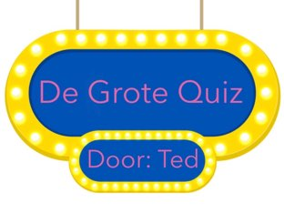 De Quiz by Ted van Buuren