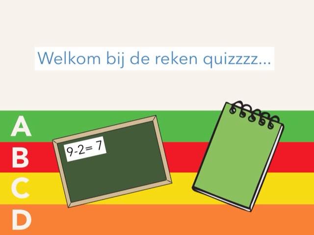 De Reken Quizzzz... by Bibi Vastenhout