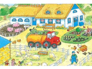 De boerderij zoekplaat by Karen Peuteman