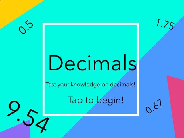 Decimals! by John Ferrero