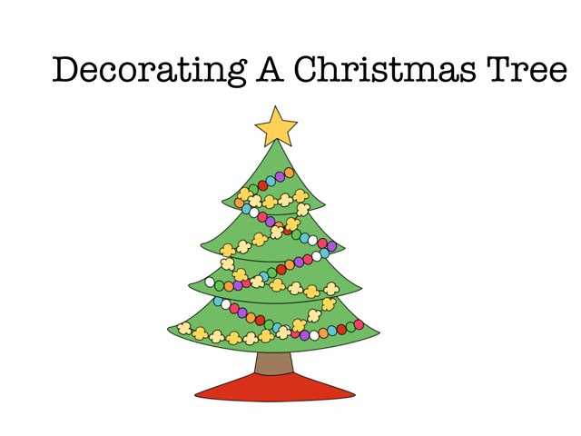 Decorating The Christmas Tree by Vicki Clarke