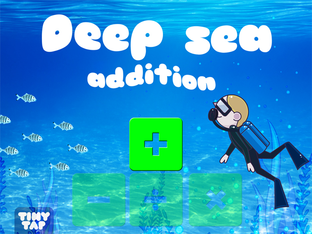 Deep Sea Addition  by Tiny Tap