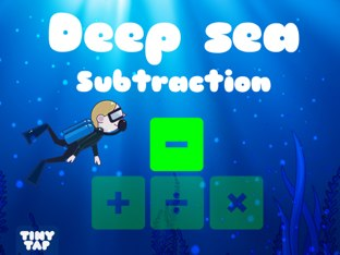 Deep Sea Subtraction by Tiny Tap
