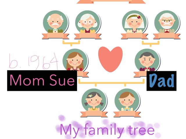 Demo Family Tree by Sara Greenberg