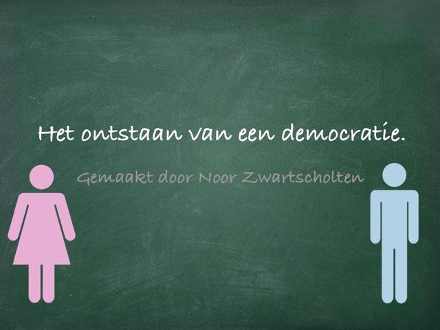 Democratiespel:) by Noor Zwartscholten