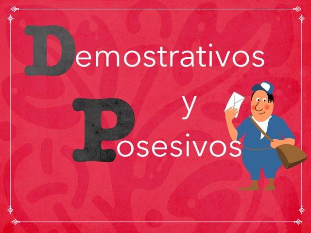 Demostrativos y posesivos by Andrea Míguez