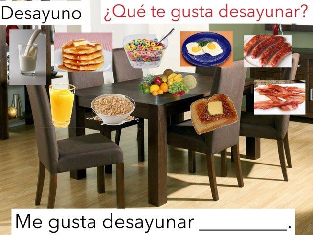 Desayuno by Rosalva Correa