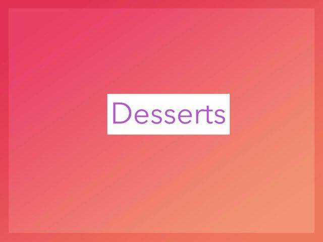 Desserts by Jill Krumm