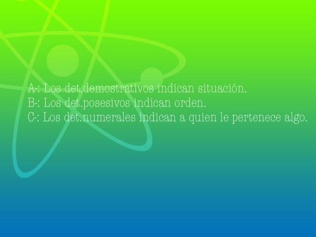 Determinantes by Llucia Bergas Garcia