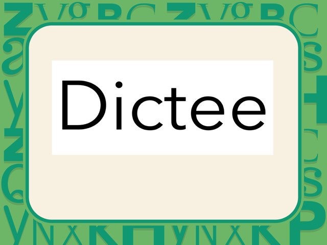 Dictee groep 3 (mmkm en mkmm woorden) by Laura mos