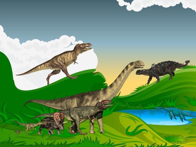 Dino Spel by Joella Moes