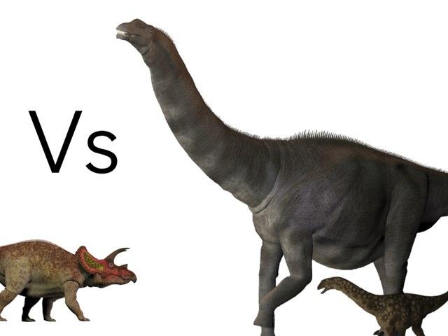 Dinosaur Fight  by mcpake family