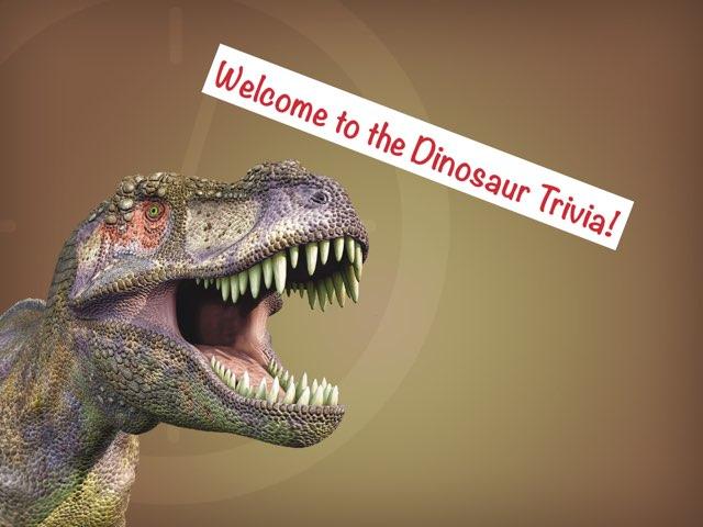 Dinosaur Trivia by Nick L.