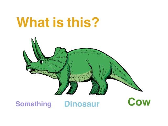 Dinosaurs by Miss Sam