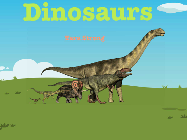 Dinosaurs by Delaney Fite