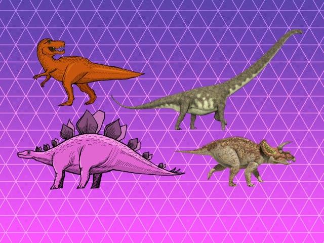 Dinosours Names by Ken LA