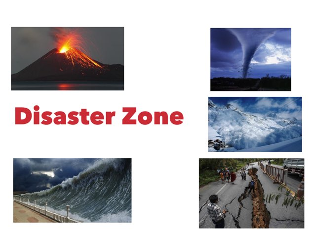 Disaster Zone by Animate2Educate Educate