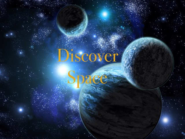 Discover Space  by Anurag Simha