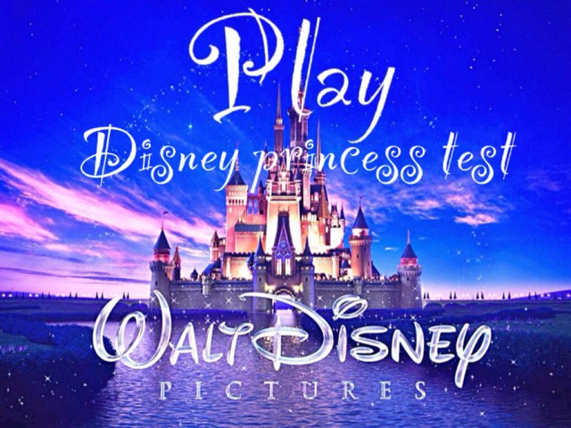 Disney Princess Test by Mina H