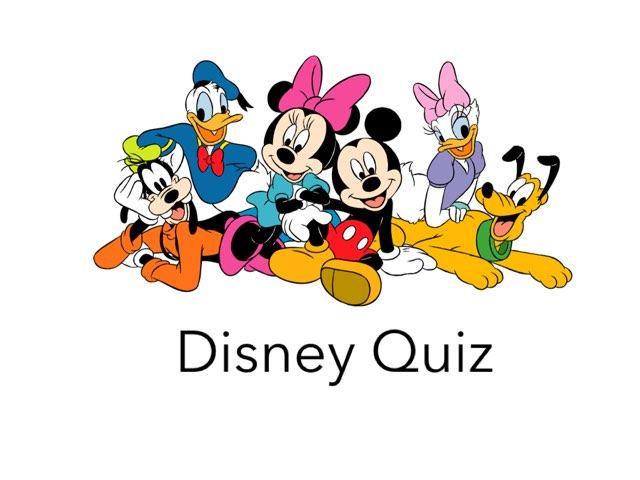 Disney Quiz by Emily Hyde