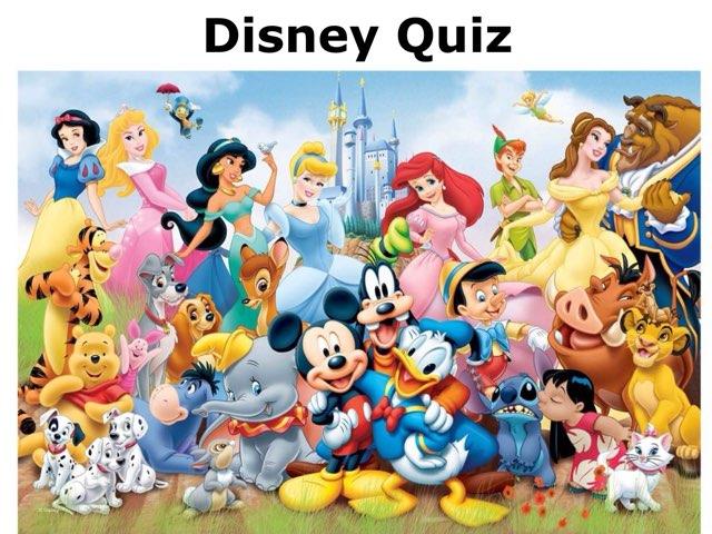 Disney Quiz by Camilly Rangel