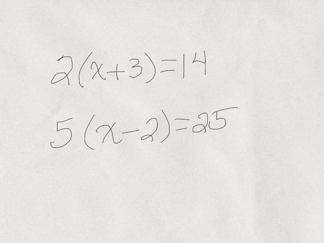 Distributive Property Equations by Cathy Jeremko