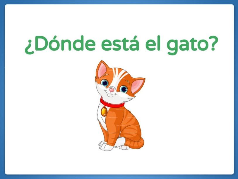 ¿Dónde está el gato? by Alba García