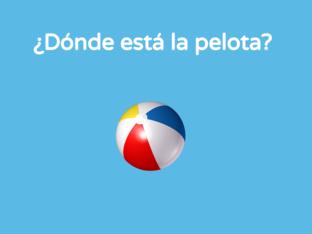 ¿Dónde está la pelota? by Andrea Colmenarejo