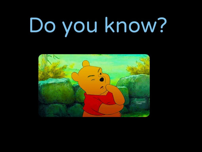 Do you know? by tucker williams