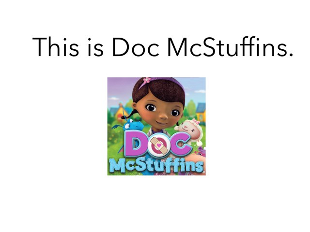 Doc McStuffins by MOLLY THOMPSON