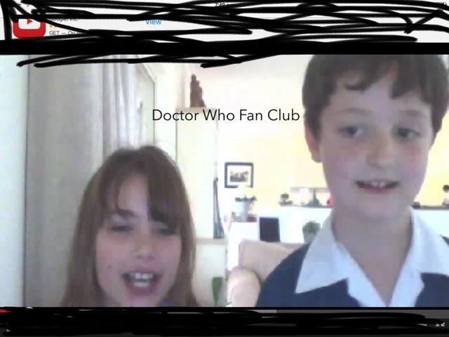 Doctor Who Fan Club App by Leo French