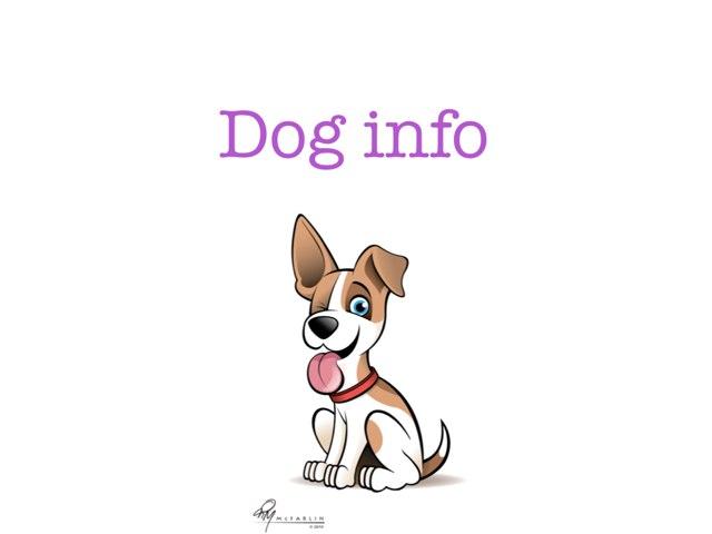 Dog Info by Piper Kolafa