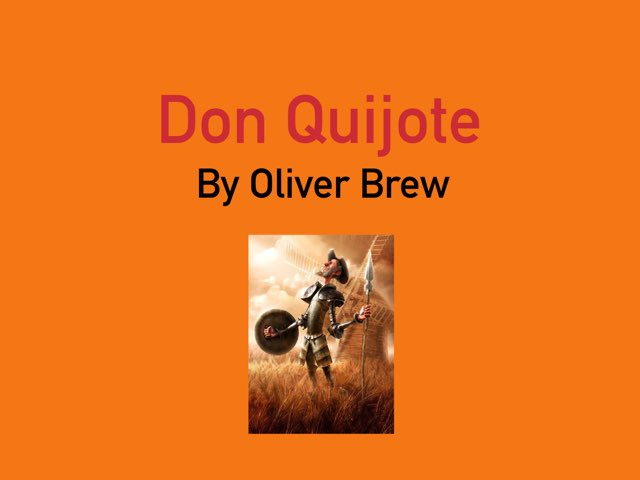Don Quijote by Oliver Brew